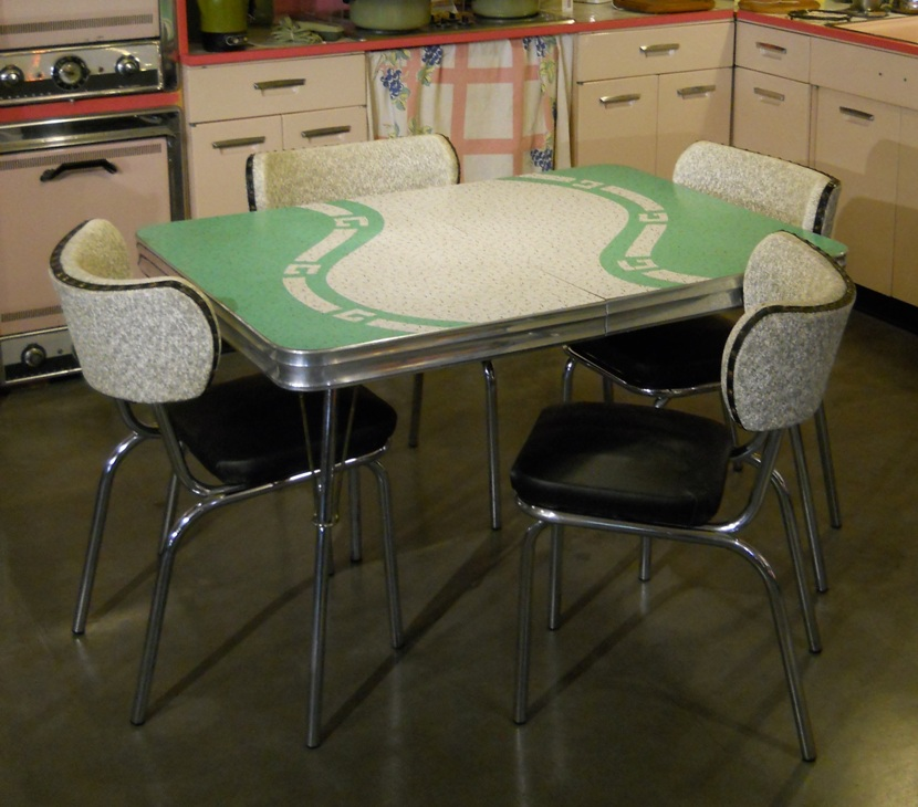 1950u0027s Chrome Dinette Set