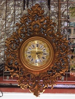 Burwood Arabesque Clock