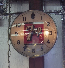 7-up Clock by Pam Clock
