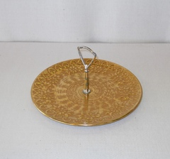Stangl Gold Tidbit Tray