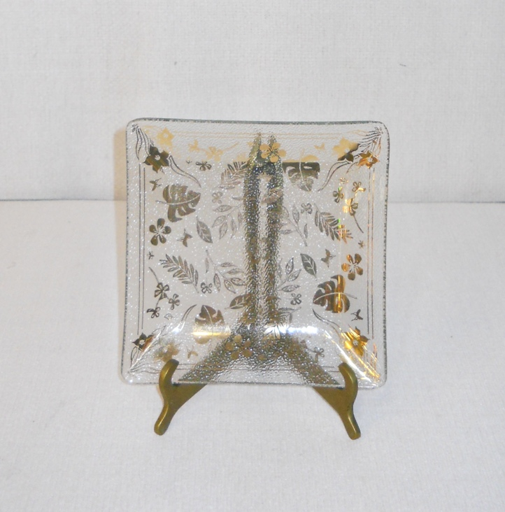 Georges Briard Glass Tray