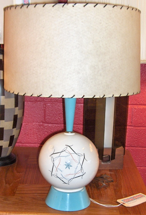 Atomic Table Lamp