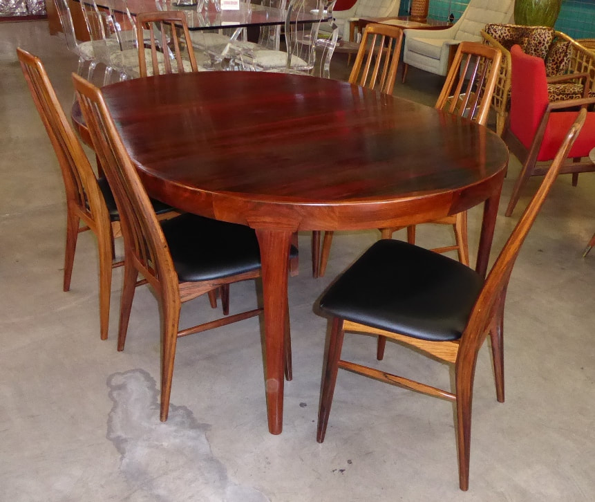 Danish Rosewood Dining Set