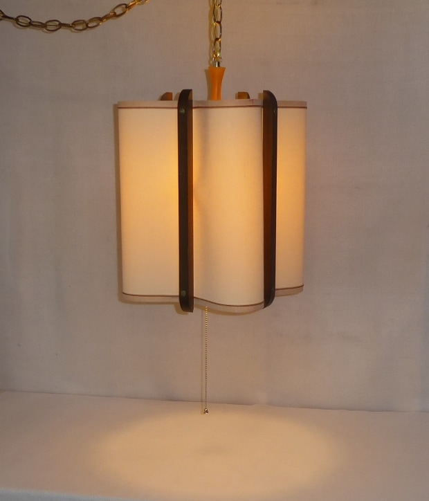 Danish Modern Fabric Lamp