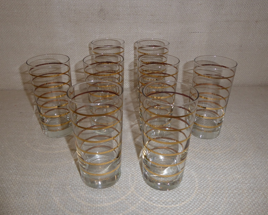 Briard Gold Band Glasses