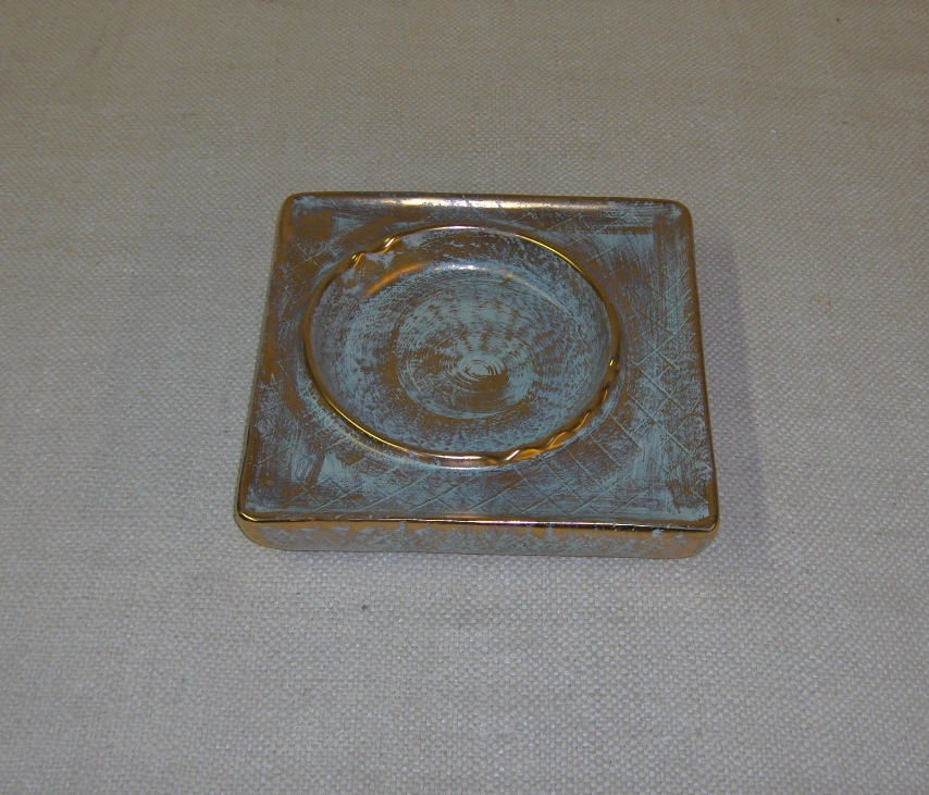 Stangl Ashtray Antique Gol