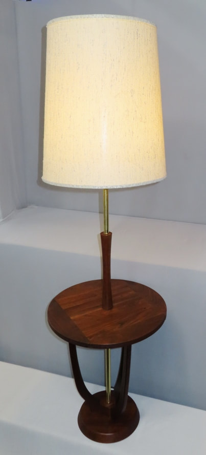 Side Table & Lamp Combo