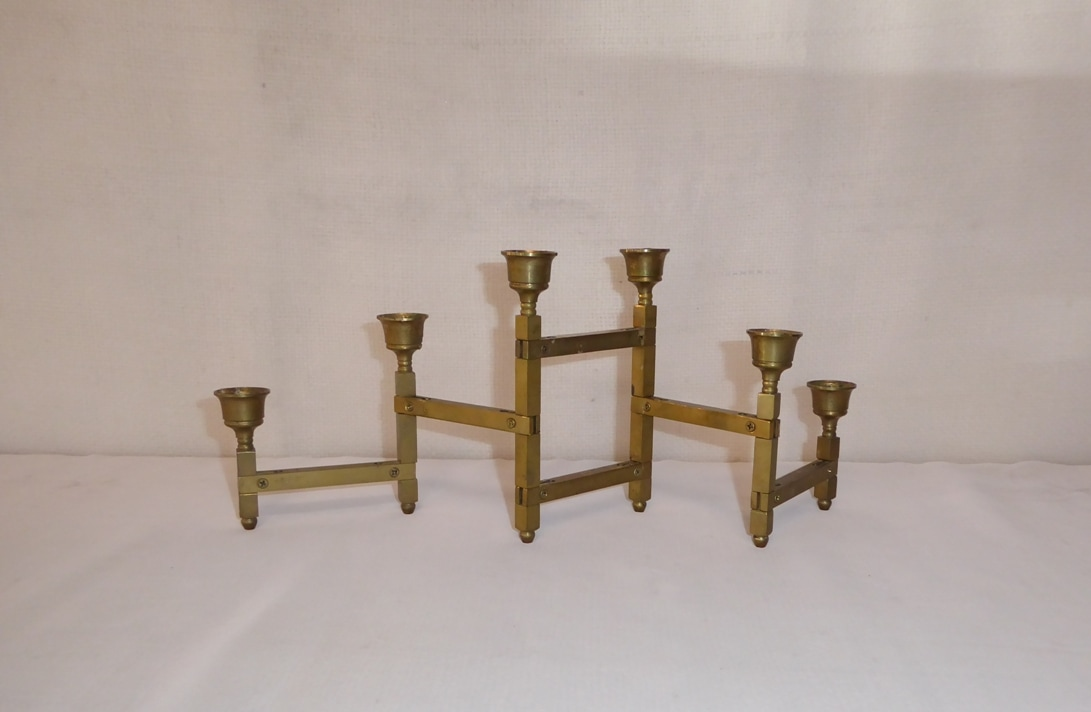 Articulating Brass Candle