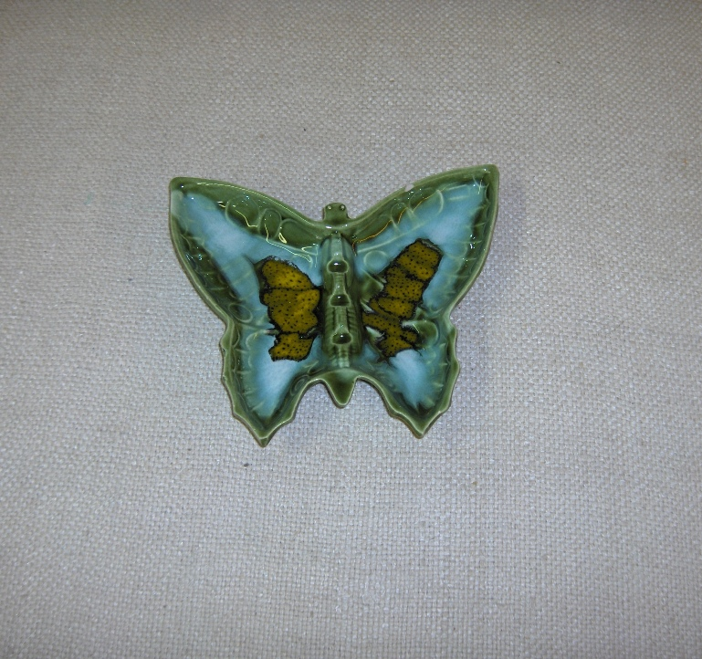 Butterfly-Shaped Ashtray