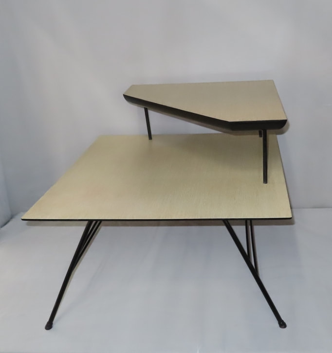 Formica-Top Corner Table