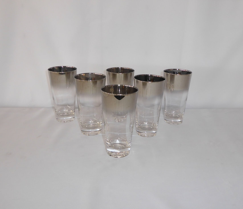 Lustreware Tapered Glasses