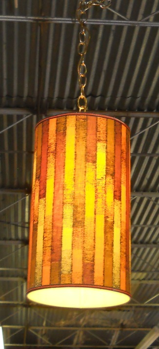 Fabric Wrapped Lamp