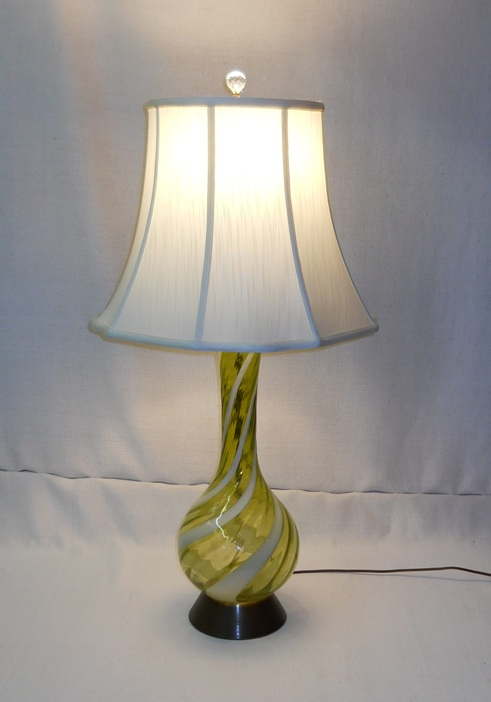 Murano Art Glass Lamp
