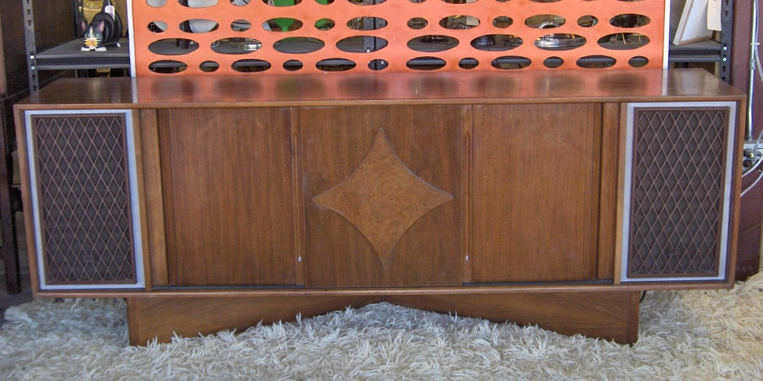 Mid-Mod Stereo Cabinet