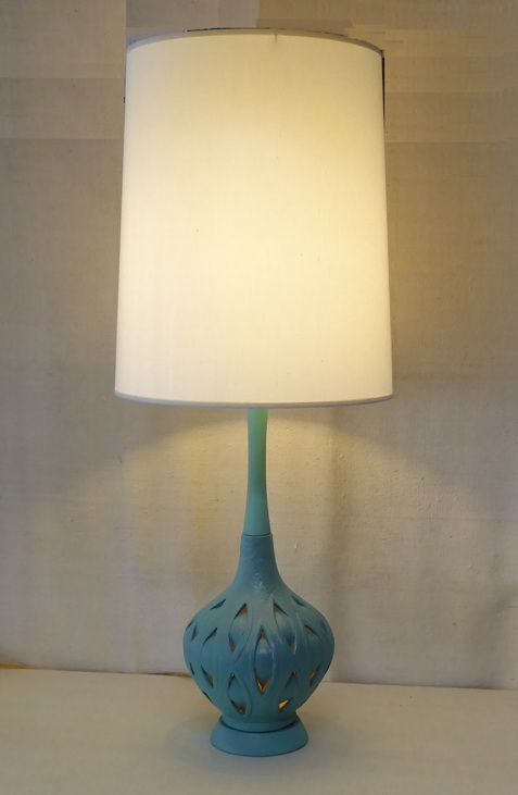Internally-Lit Table Lamp