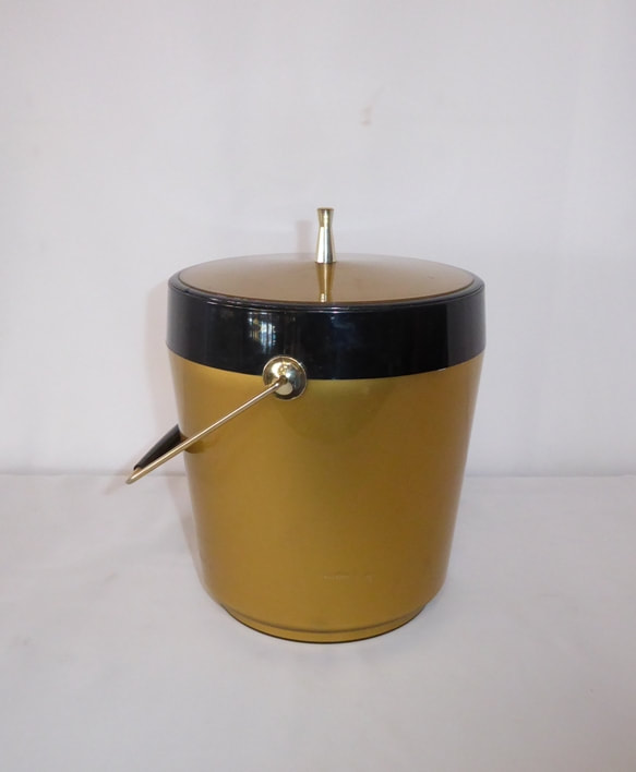 Thermo-Serv Gold Ice Bucket