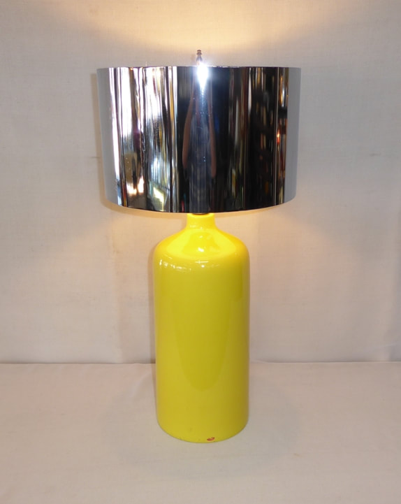 Ceramic Cylinder Table Lamp
