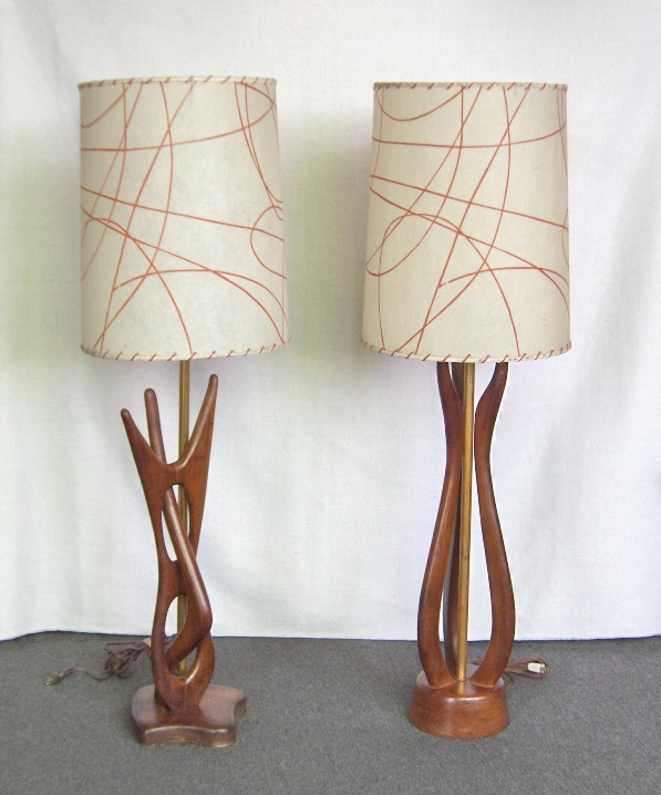 Sculptural Table Lamps