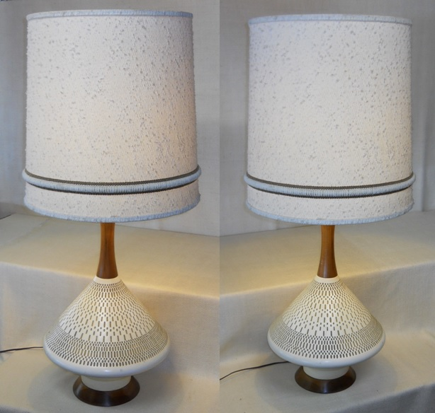Pair of Grand Scale Lamps
