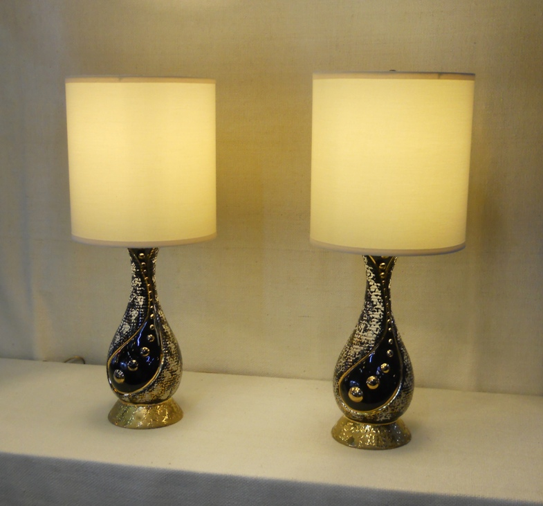 Mid-Mod Table Lamps