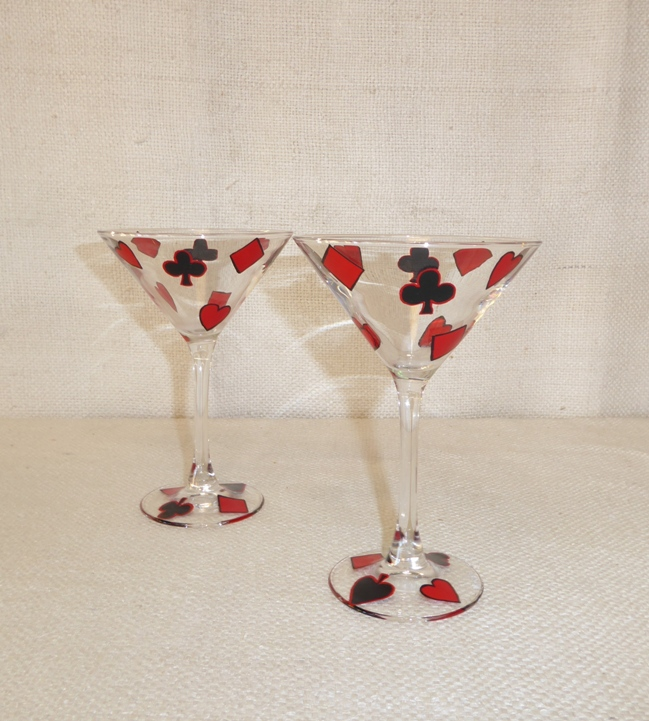 Vintage Martini Glasses