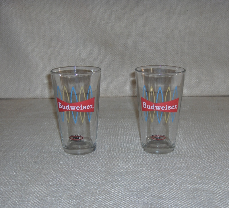 1961 Budweiser Glass