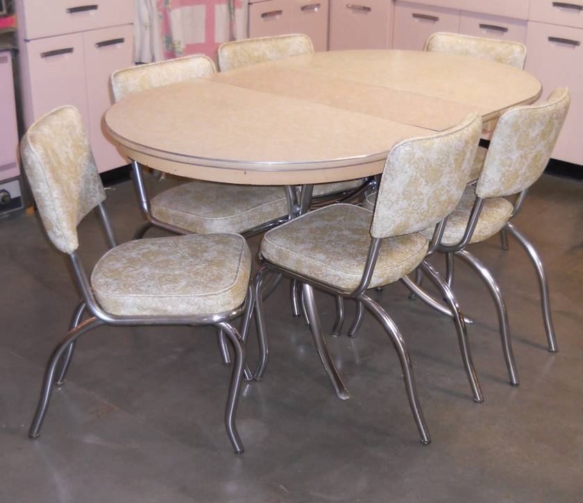 Chrome Dinette Chairs retro vegas tables