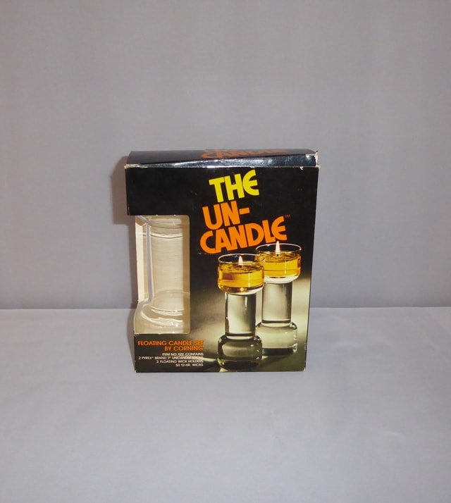Un-Candle Corning orig box