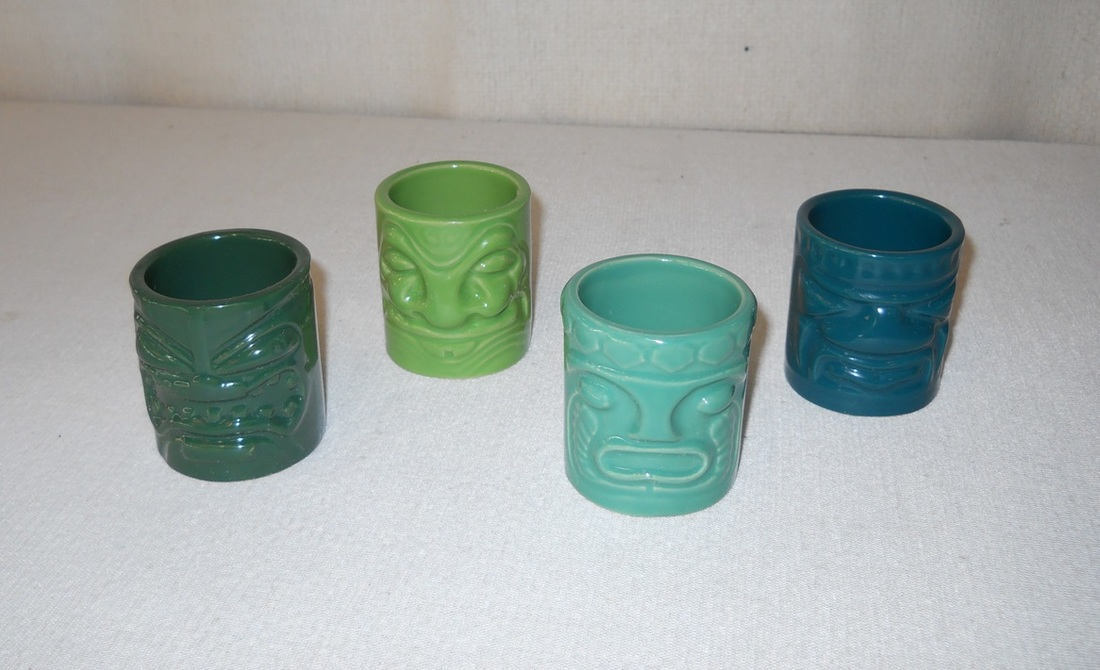 Tiki Bar Shot Glasses
