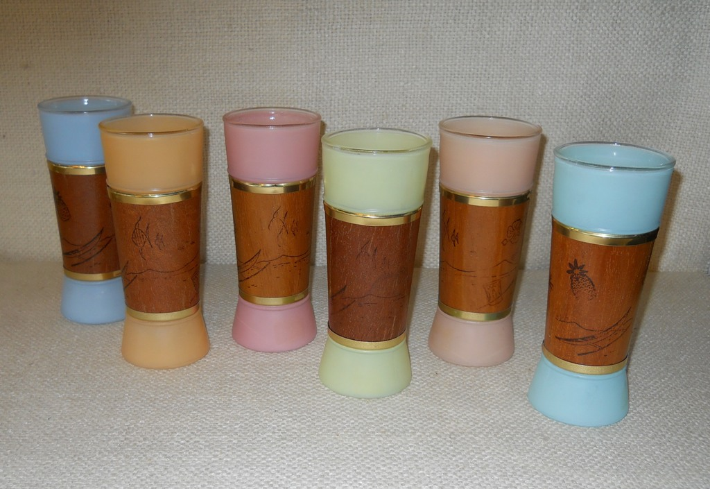 Siesta Ware Wood Glasses