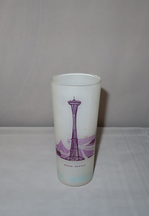Seattle Space Needle Glass