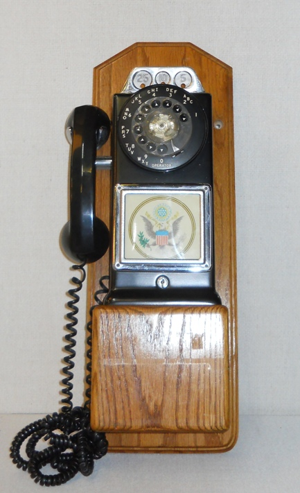 Rotary Dial Payphone