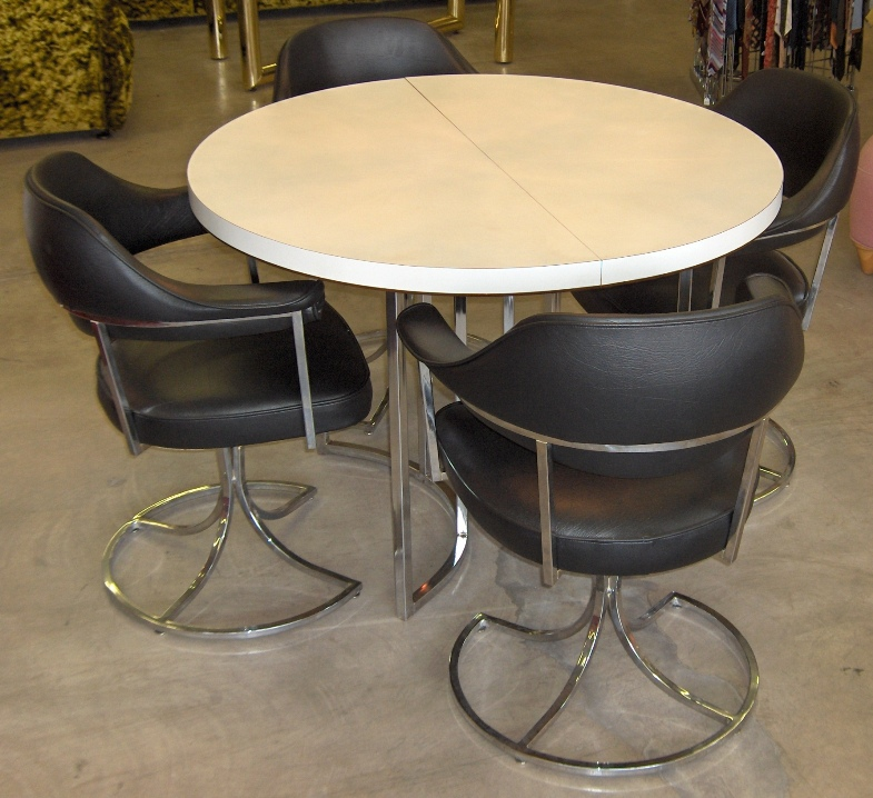 Vintage Chrome Kitchen Table: Retro Vegas Tables Sold