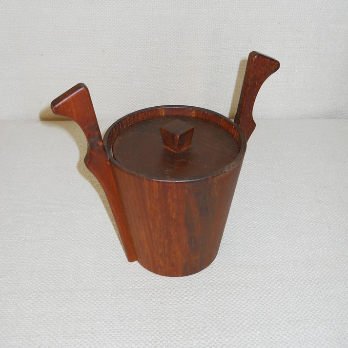 Teak Ice Bucket by Anri