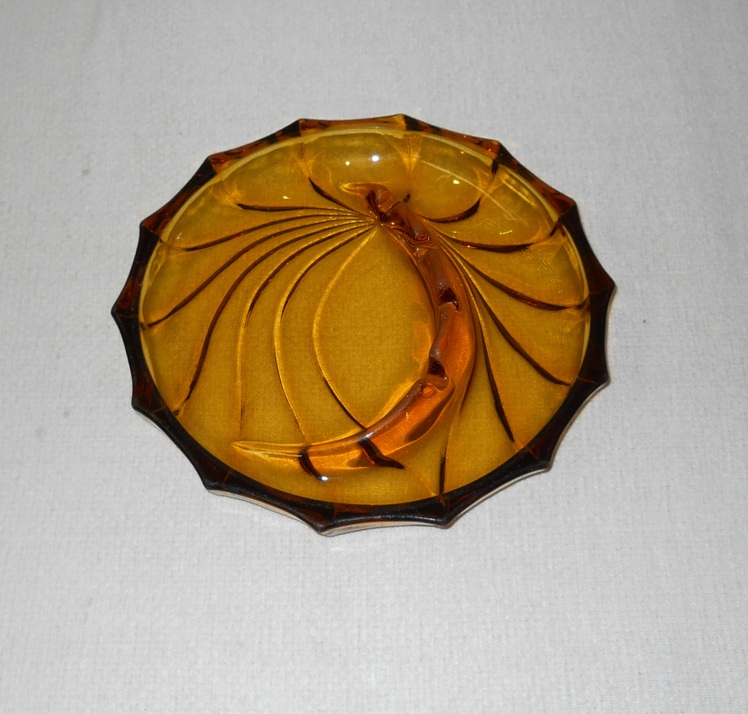 Glass Nautilus Ashtray