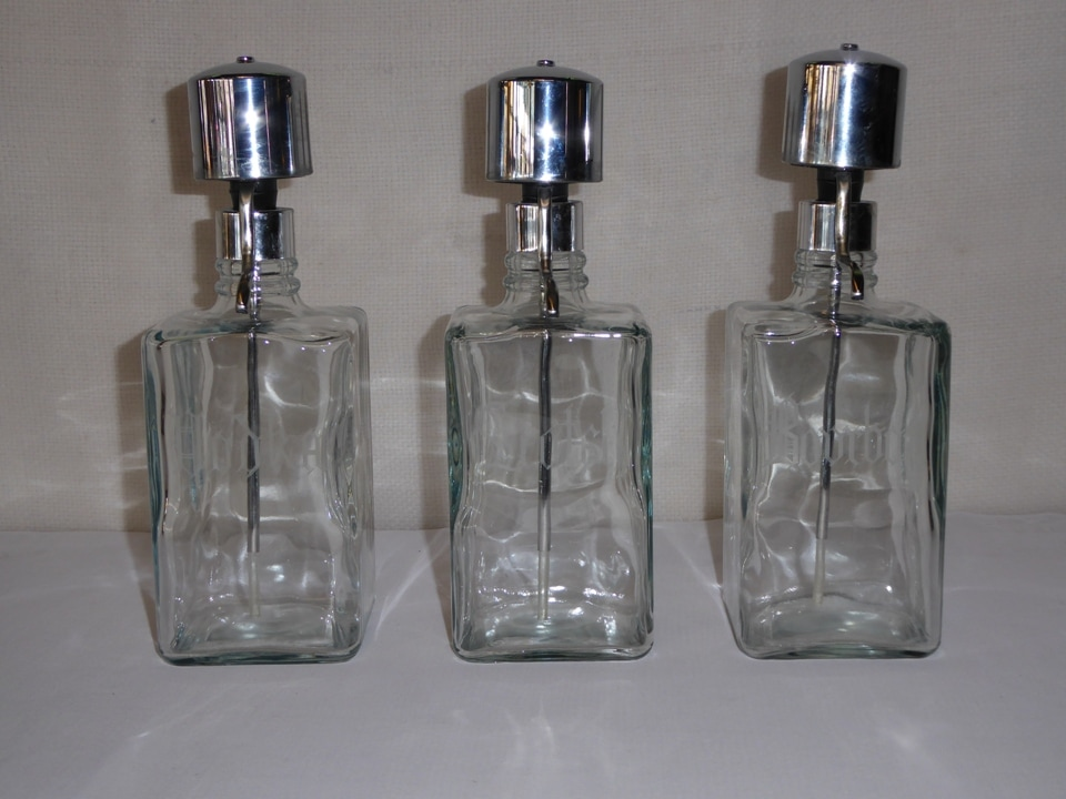 Bar Pump Decanter Set