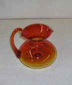 Blenko Tangerine Pitcher