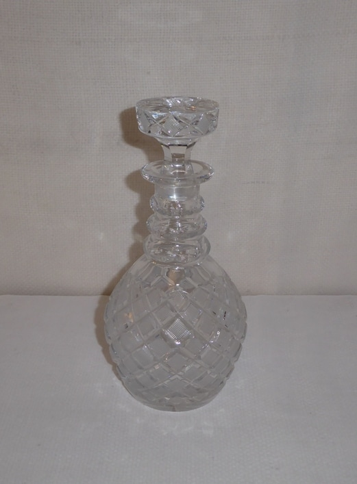 Crystal Decanter Star Top