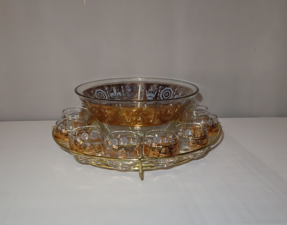 Crown Punch Bowl Caddy