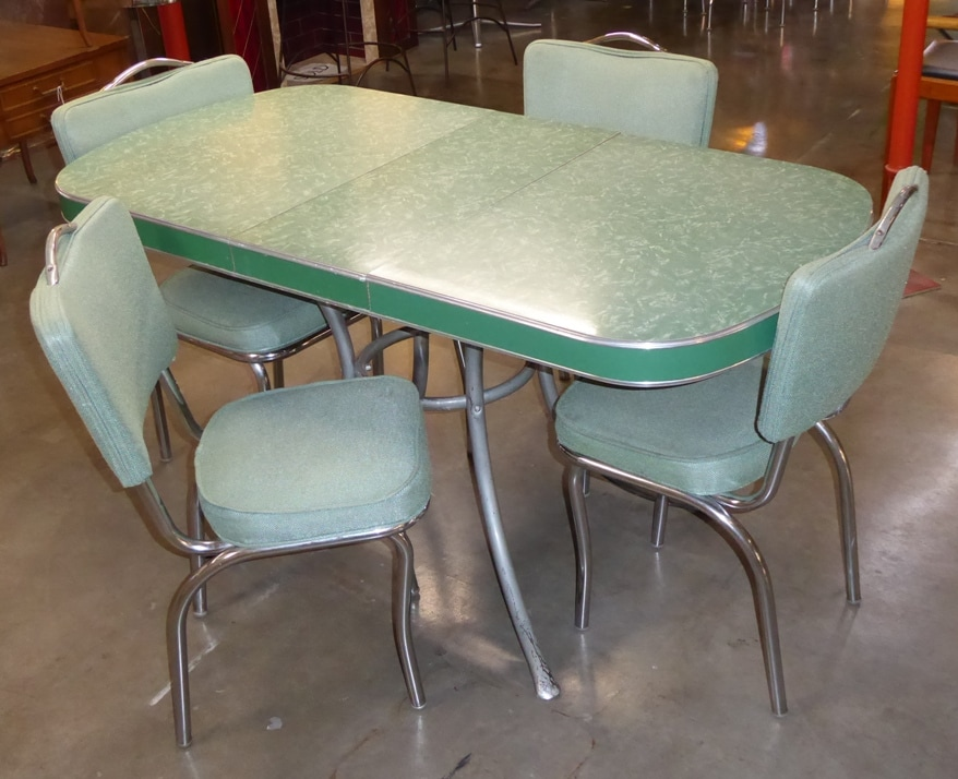 Chrome Dinette Chairs retro vegas tables sold