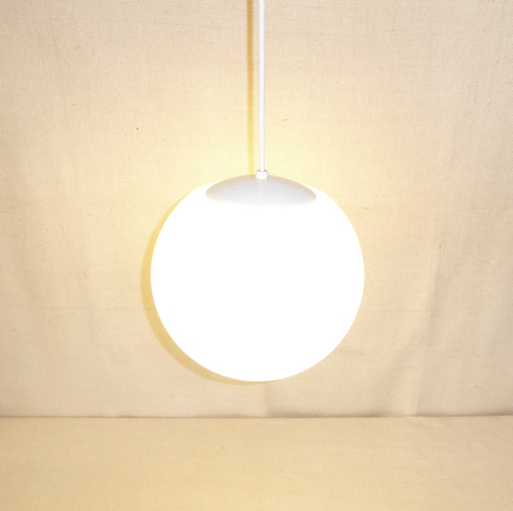 Hanging Glass Globe Lamp