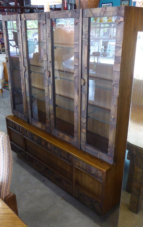 Lane Brutalist China Cabinet