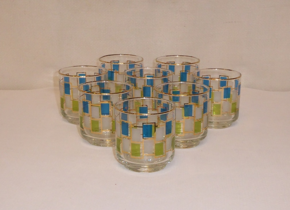 Libbey Nordic Blue Glasses