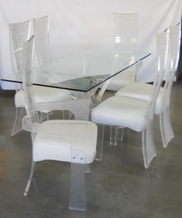 Lucite Dining Set Muniz