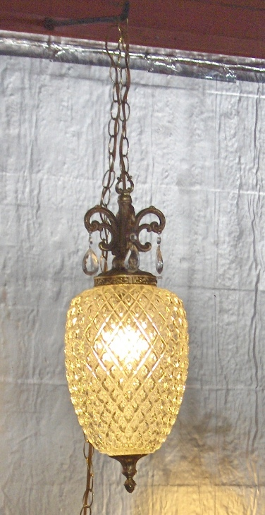 Pineapple Swag Lamp