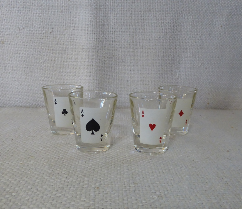 Playing Cards Shot Glasses