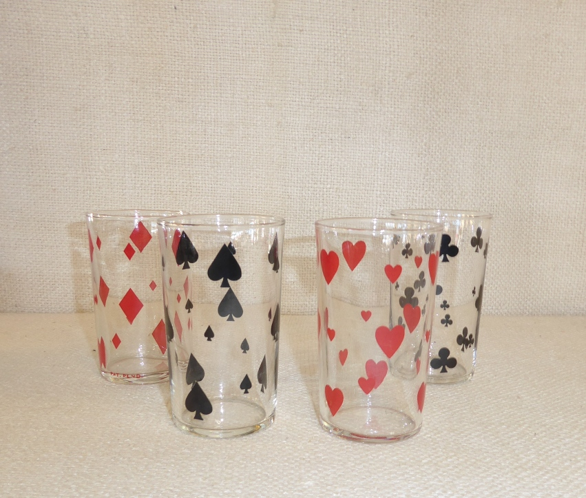 Playing Cards Glasses