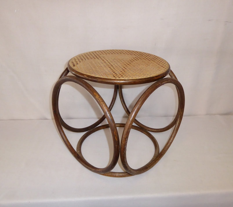 Cane Top Table Thonet