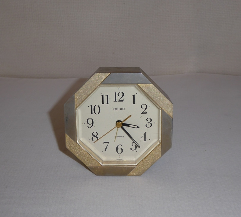 Seiko Octagon Clock Japan