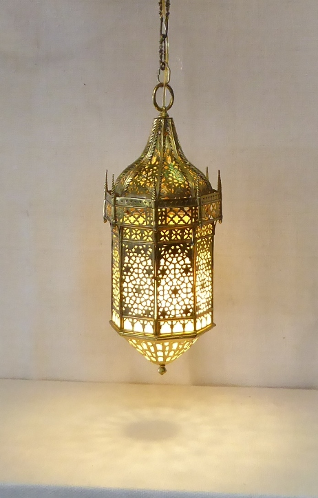 Moroccan Swag Lamp